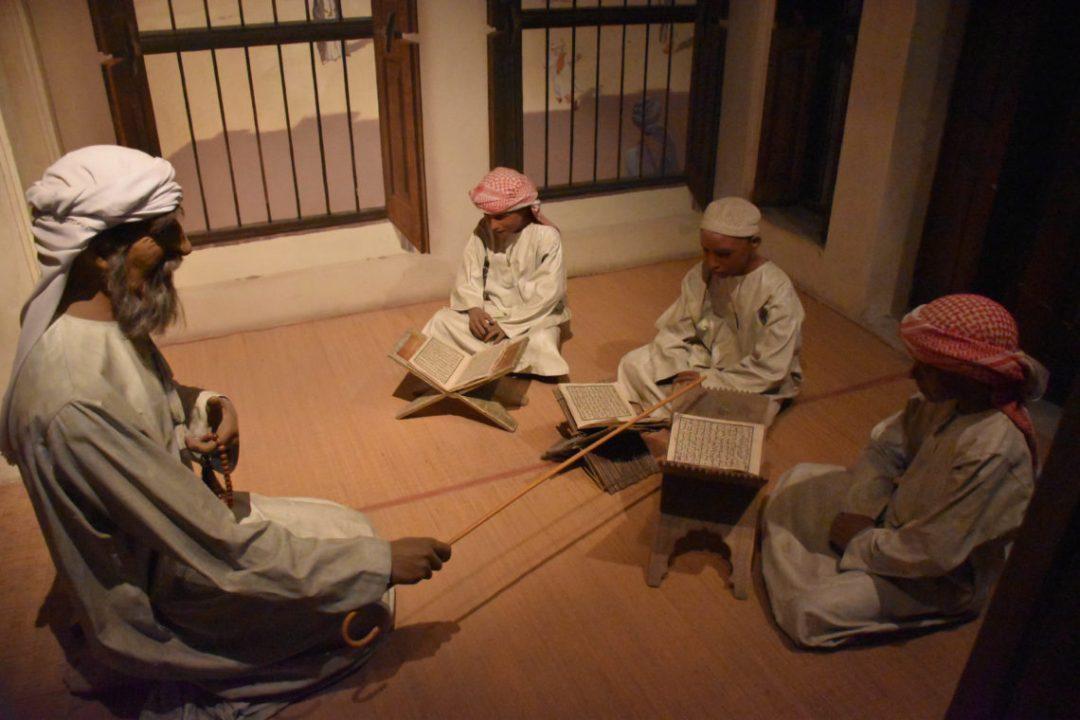 Histoire de dubai au Museum de Dubai