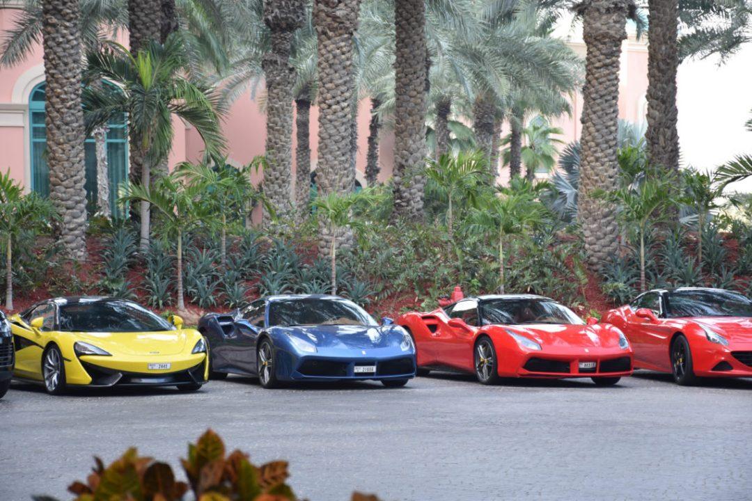 Voitures de Luxe Hotel Atlantis Dubai