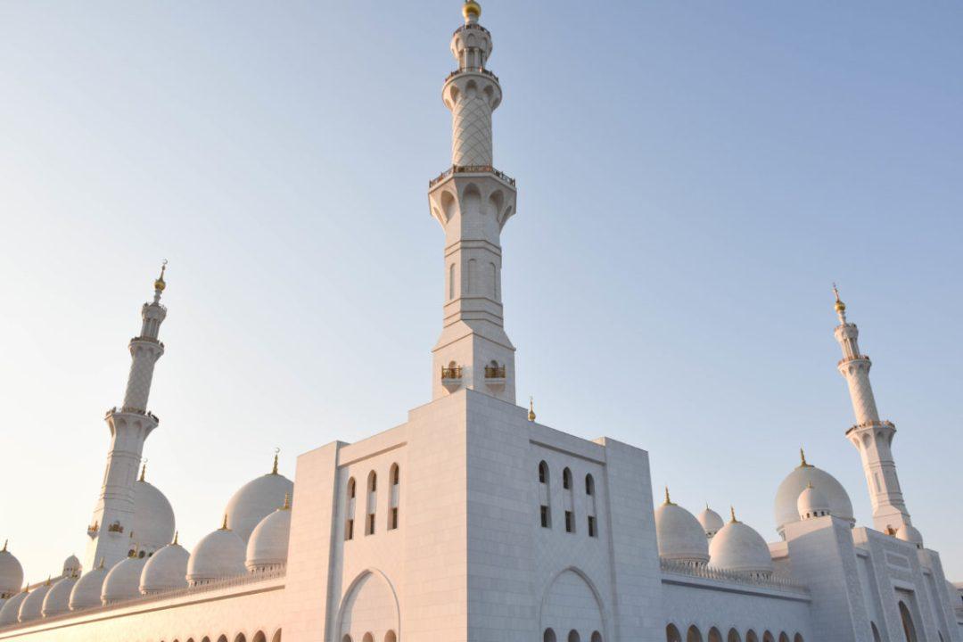 vue sur la Mosquée Sheikh Zayed