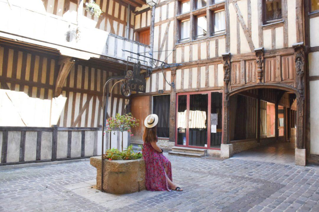 Jolies maisons à Pans de Bois à Troyes