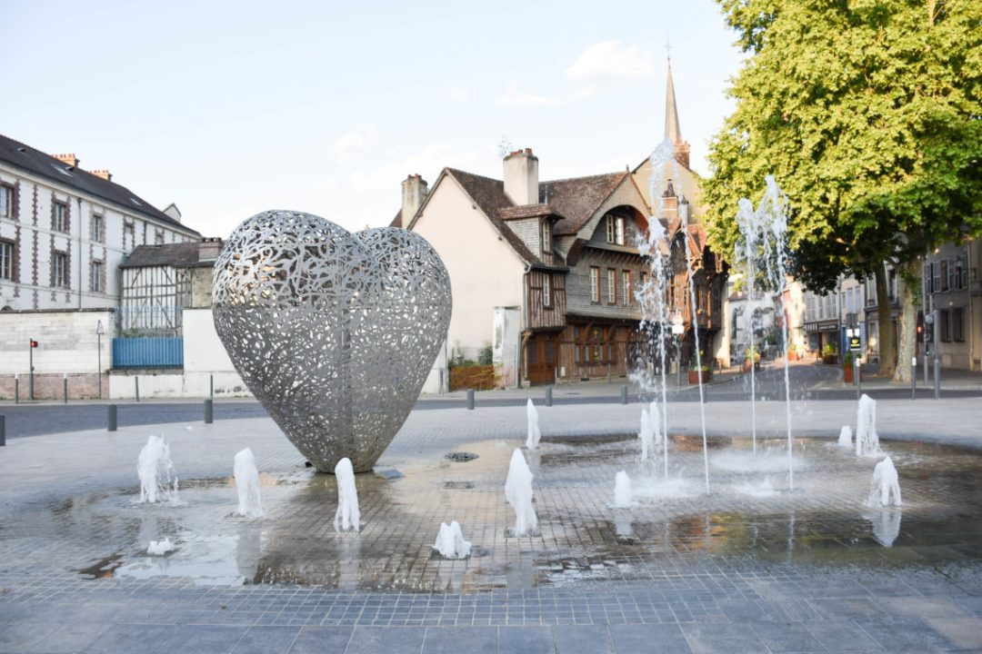 Le coeur de Troyes