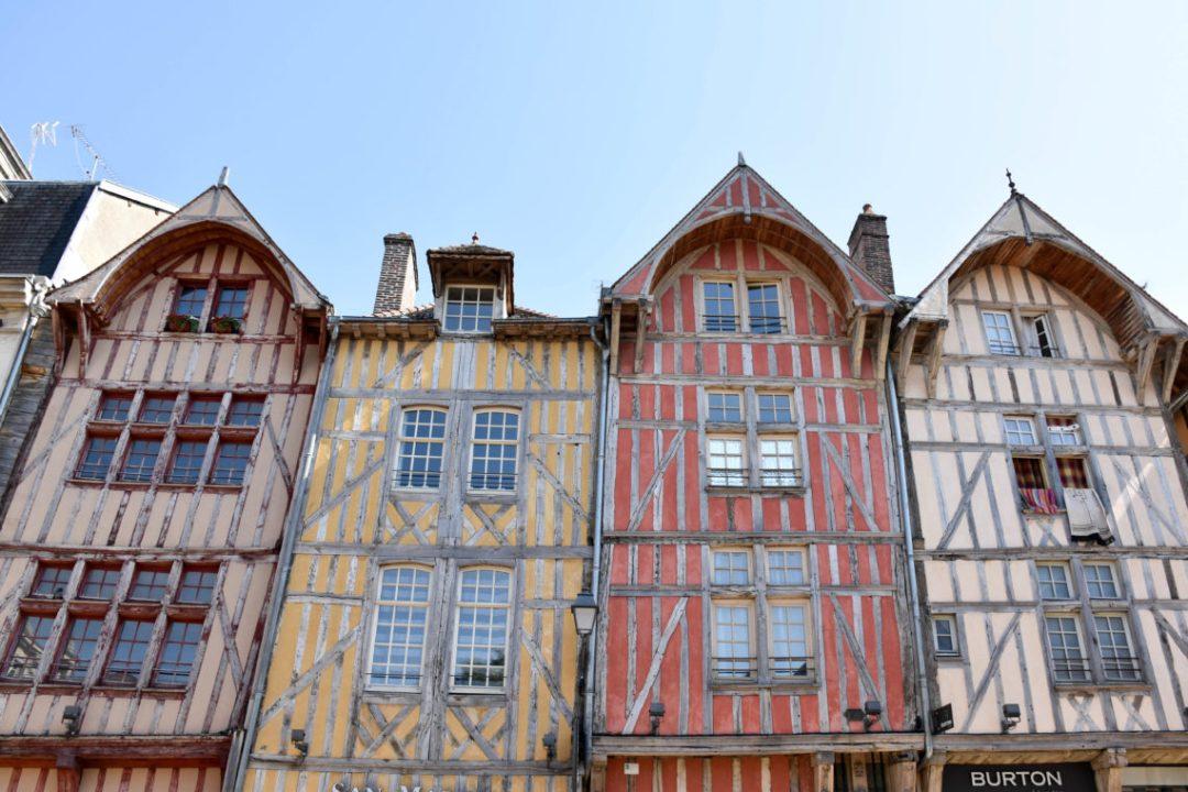Maisons à pans de bois à Troyes