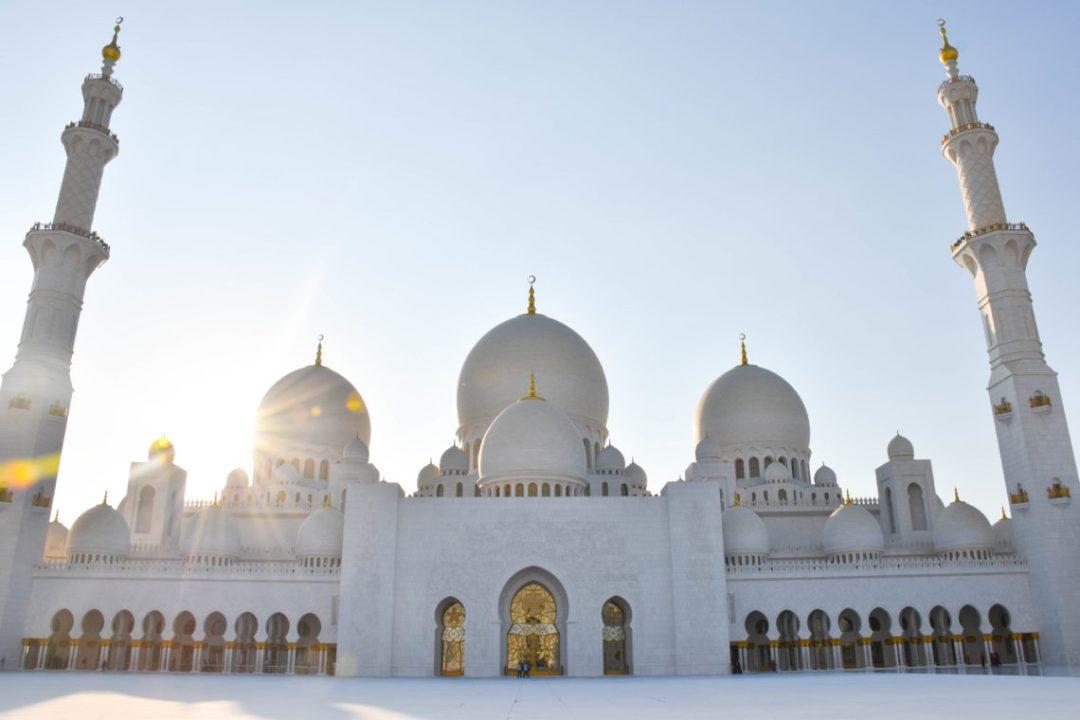 Mosquée Sheikh Zayed d'Abu Dhbai