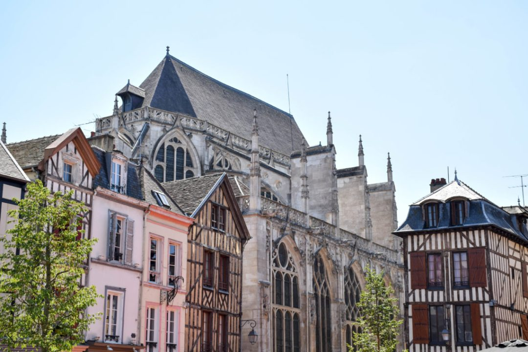 Vue sur la ville de Troyes_visiter troyes