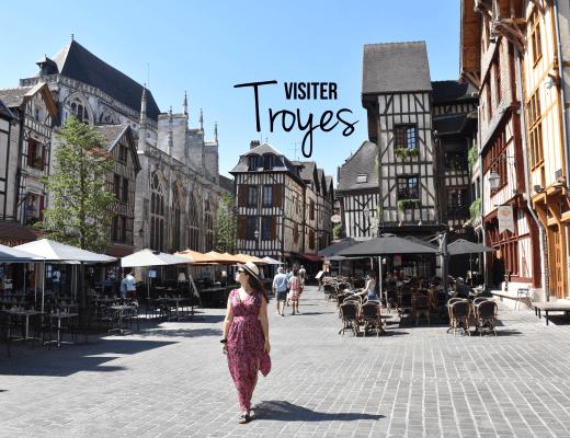 Visiter la ville de Troyes
