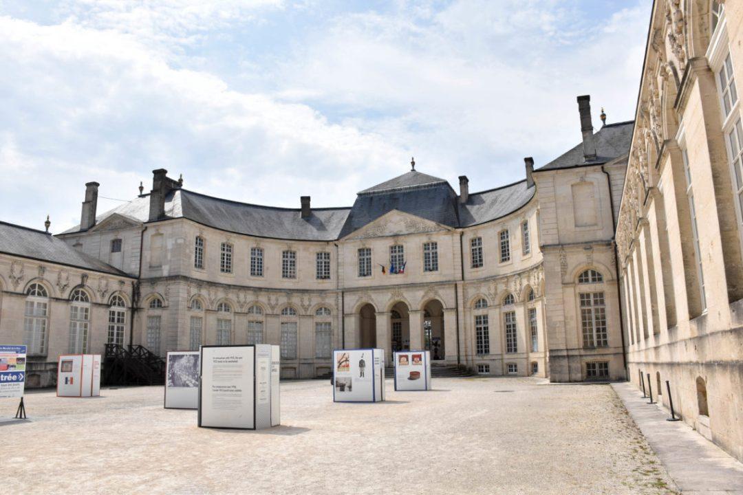 Entrée Centre Mondial de la Paix – Verdun