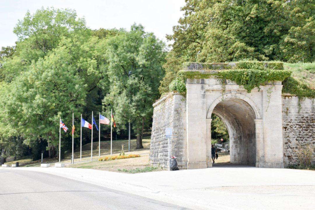 Entrée Citadelle Souterraine de Verdun