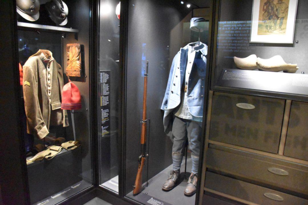 Tenues et objets du Champ de Bataille de Verdun