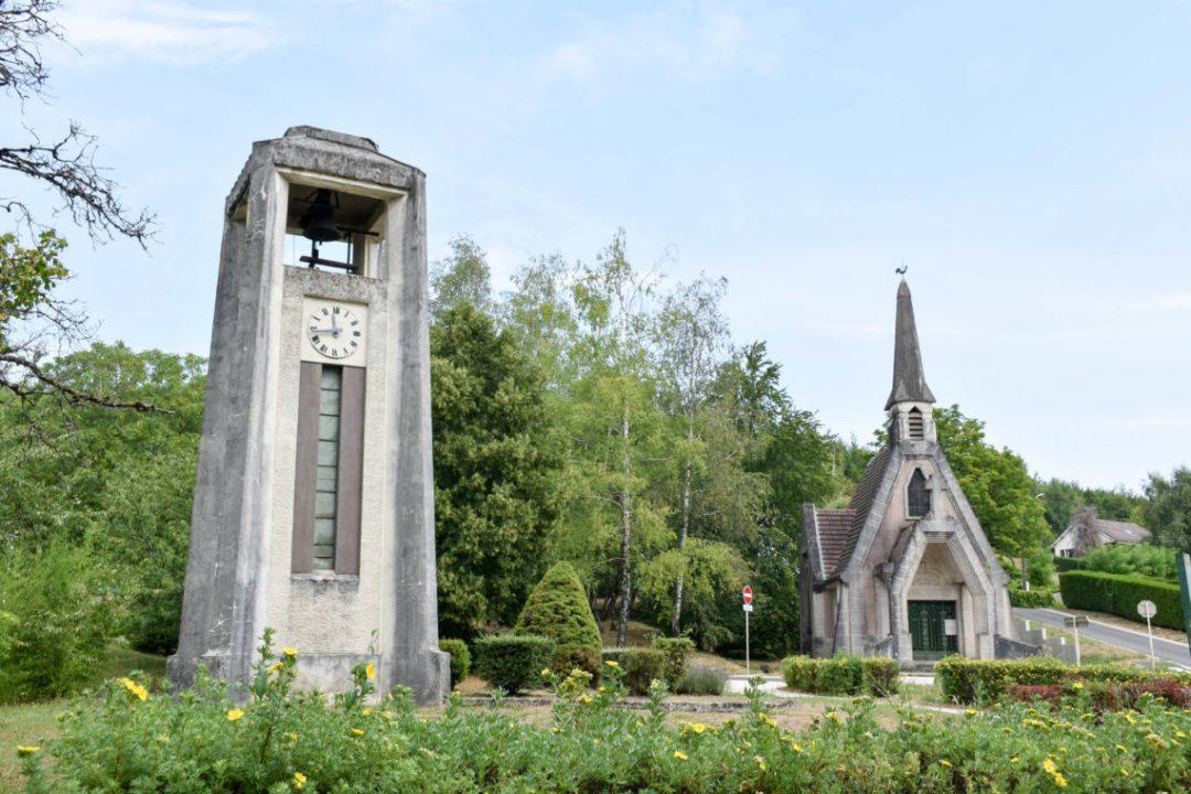 Vaux-devant-Damloup village détruit près de Verdun