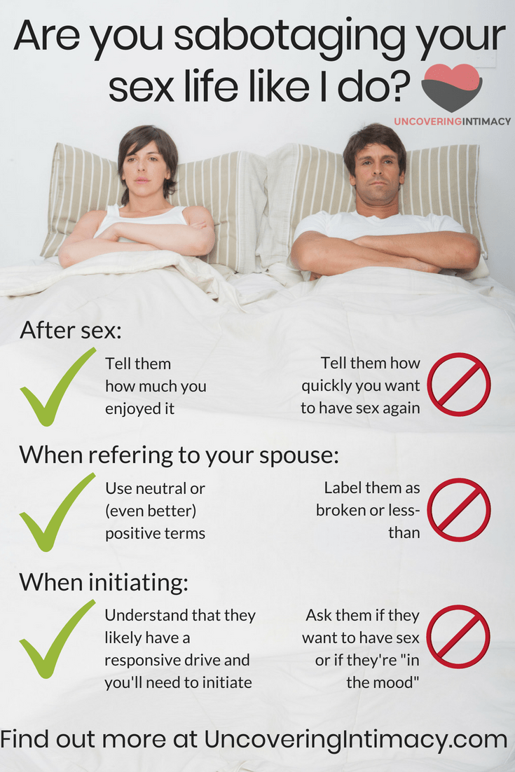 Consider, how to get your wife to have more sex