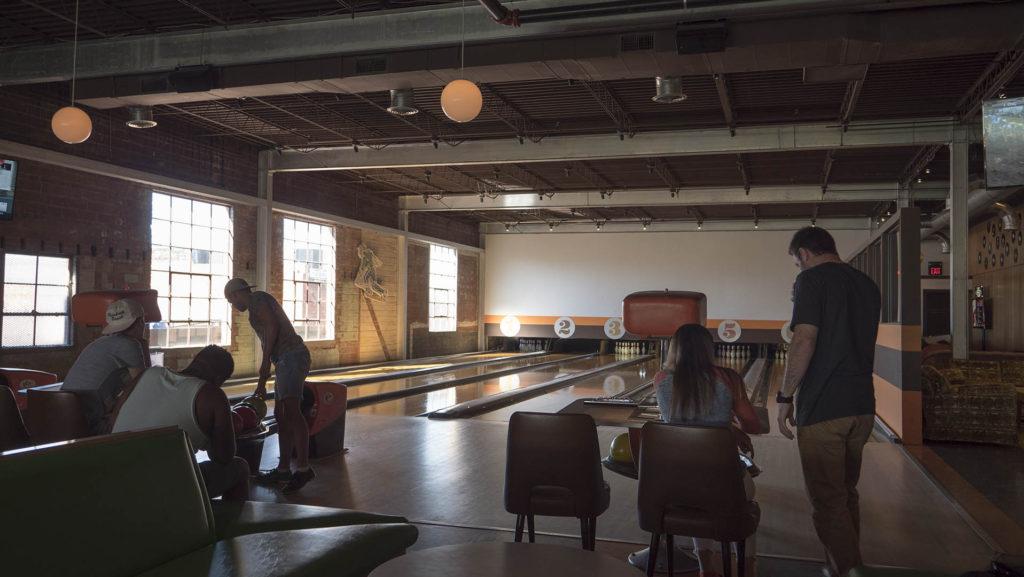 Dust Bowl Lanes & Lounge in Tulsa - photo by Dennis Spielman