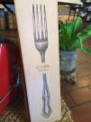 A giant fork. Very useful.