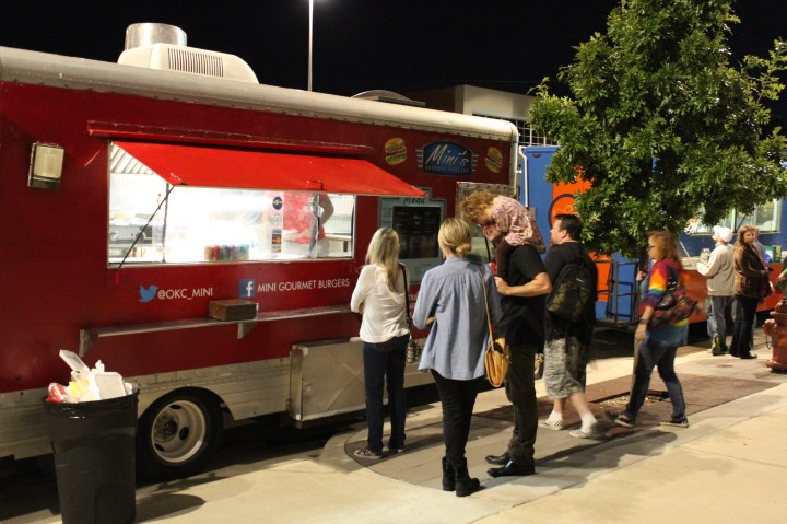 Food Trucks on Film Row. Photo by Dennis Spielman