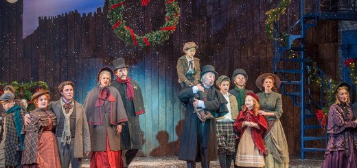 The cast of Lyric's 2013 production of LYRIC'S A CHRISTMAS CAROL. Photo by KO Rinearson.