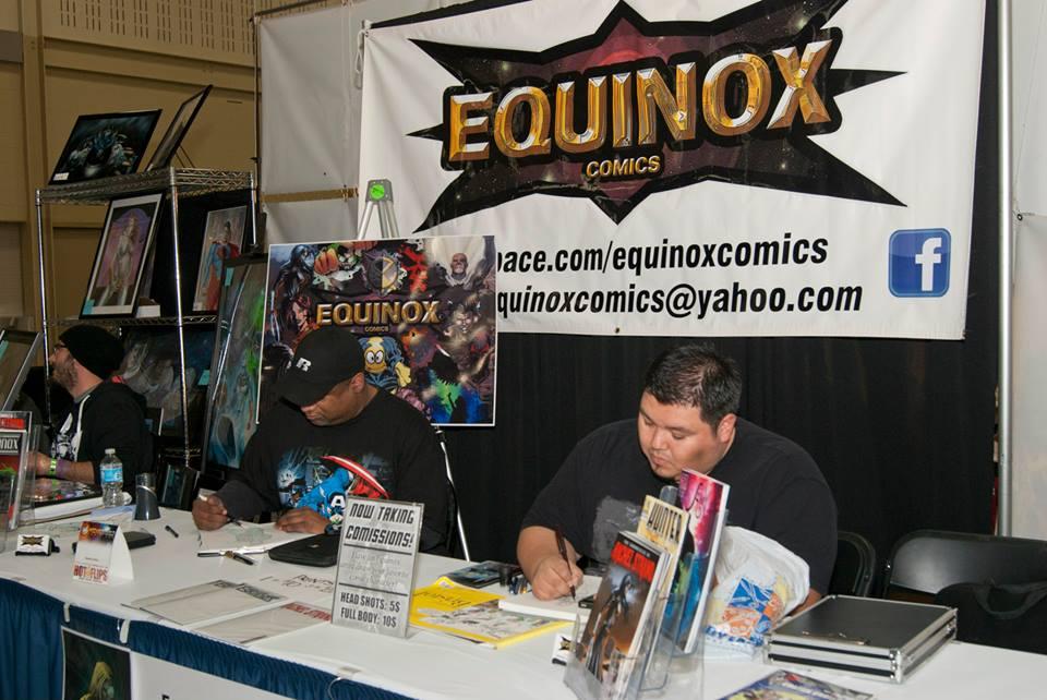 Equinox at Comic Con