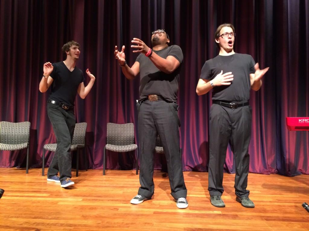 Opening Night with OKC Improv - Photo by Dennis Spielman