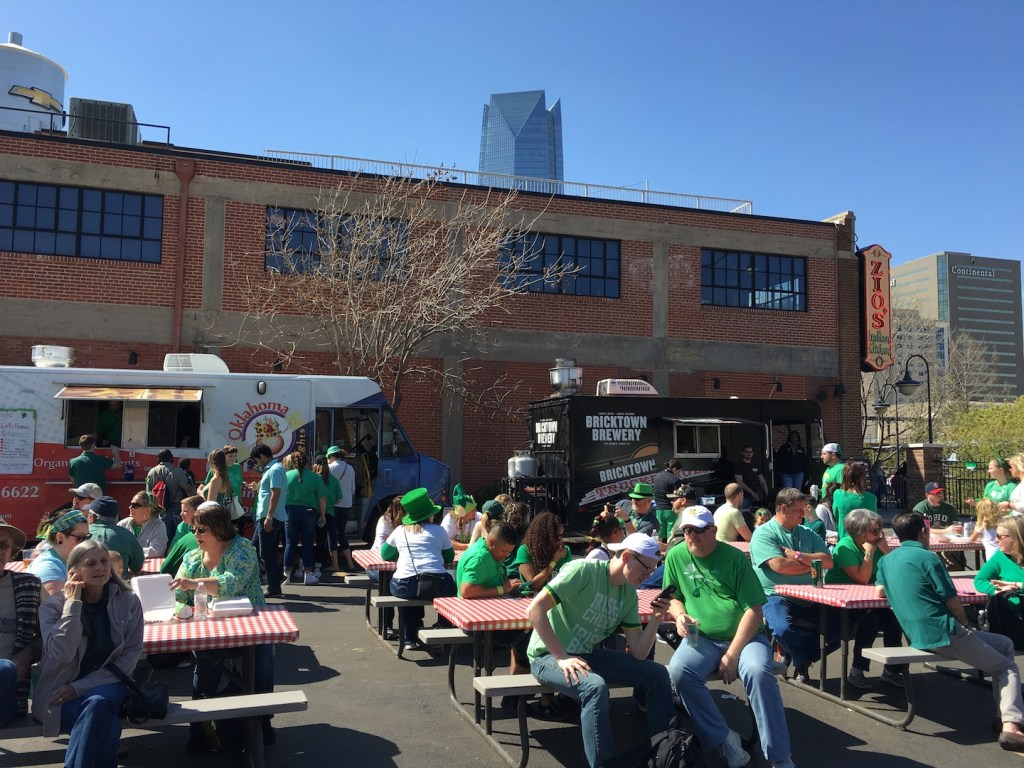 St Patrick's Day in Bricktown