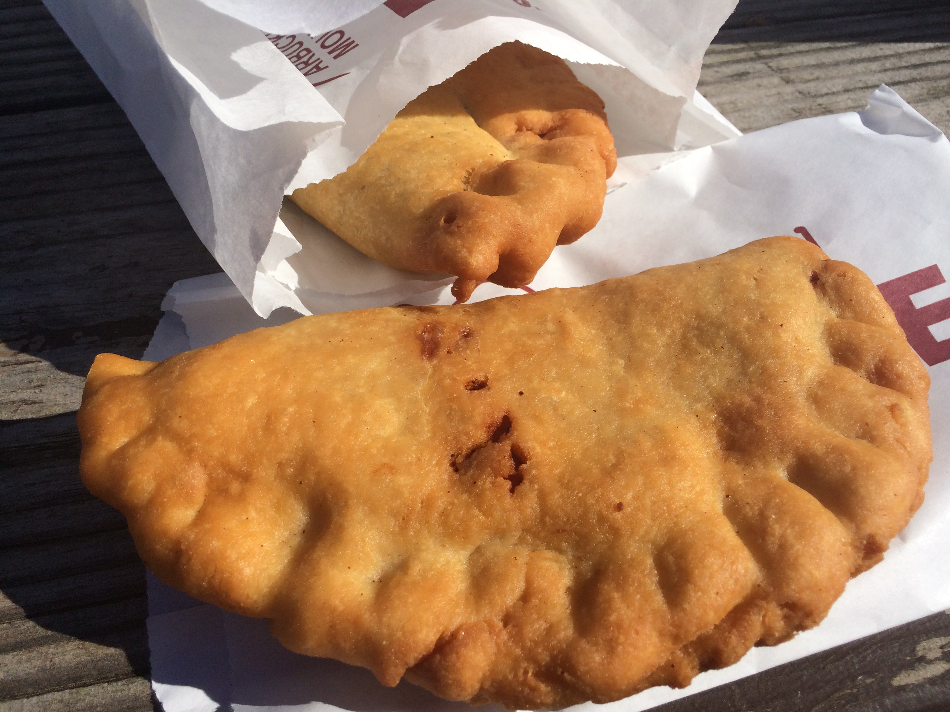 Arbuckle Mountain Fried Pies Had A Wide Selection Of Both Savory And Sweet Pies With Fillings Such As Breakfast Pizza Apple Chocolate Potato