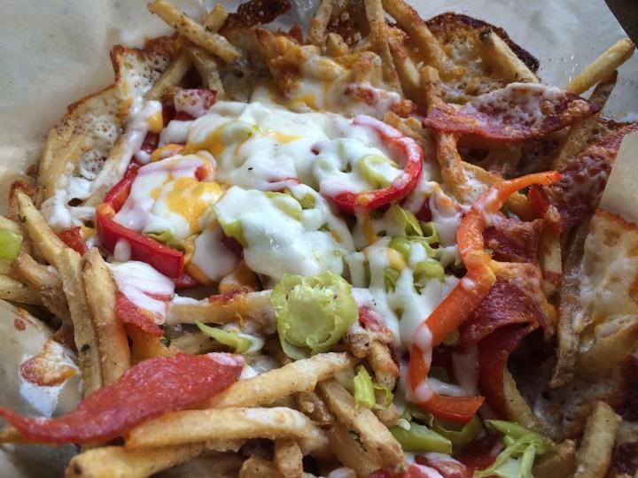 Italian Cheese Fries at Knuck's Wheelhouse