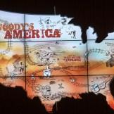Interactive board at the Woody Guthrie Center - Photo by Dennis Spielman