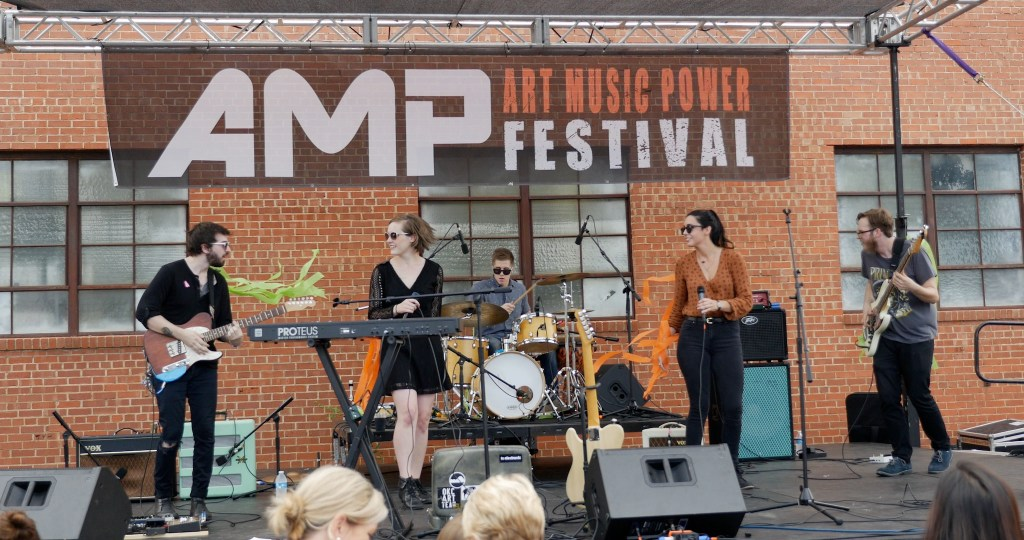 The So Help Me's at AMP Fest 2016 - photo by Dennis Spielman