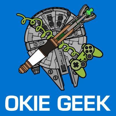 Okie Geek Podcast logo
