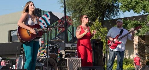 Willow Way at WestFest - photo by Dennis Spielman