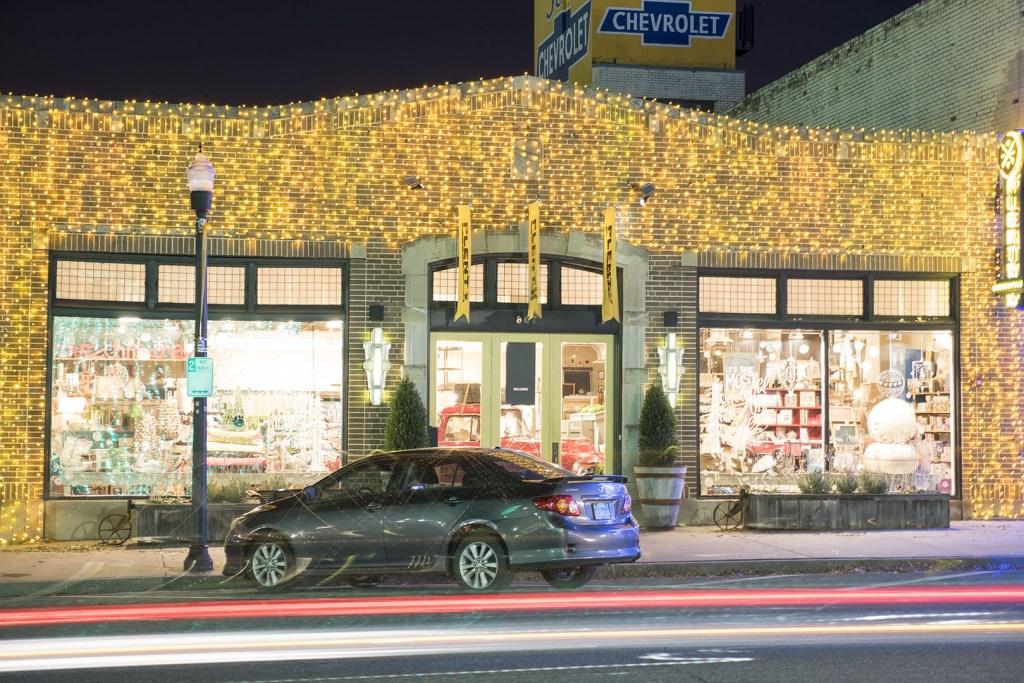Plenty in Automobile Alley, part of Downtown Oklahoma City - photo by Dennis Spielman