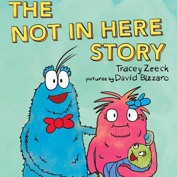 The Not In Here Story - book cover