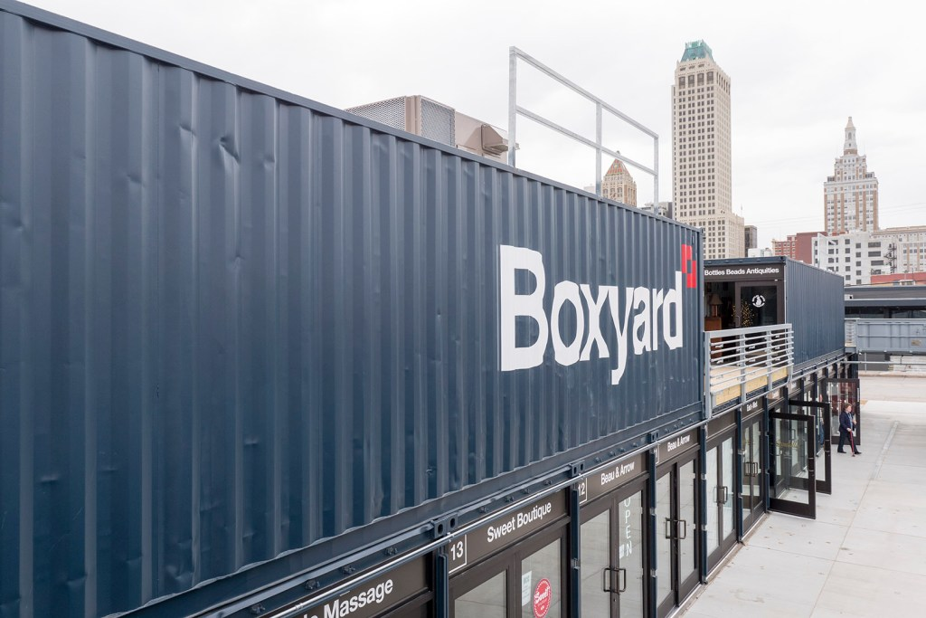 Tulsa Boxyard - photo by Dennis Spielman