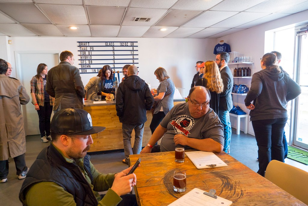Inside 405 Brewing Co - Photo by Dennis Spielman