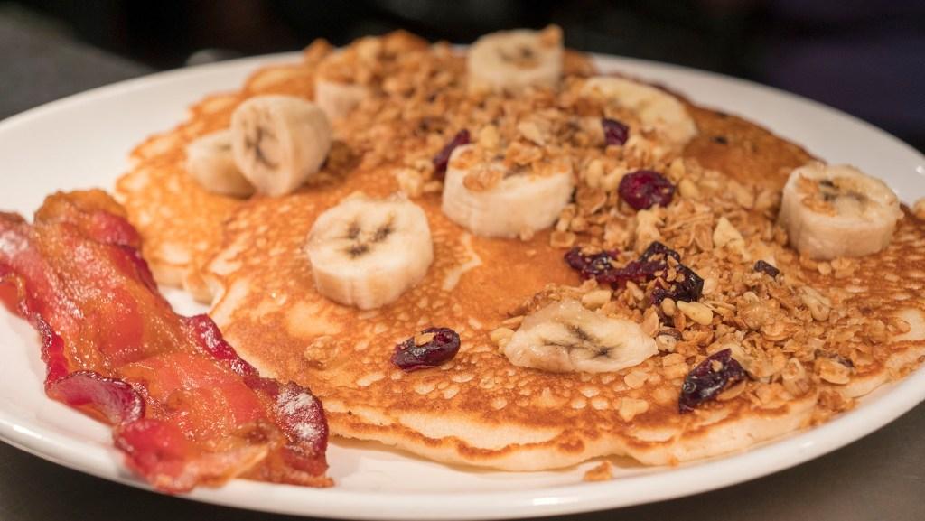 Pancakes at Aurora - photo by Dennis Spielman