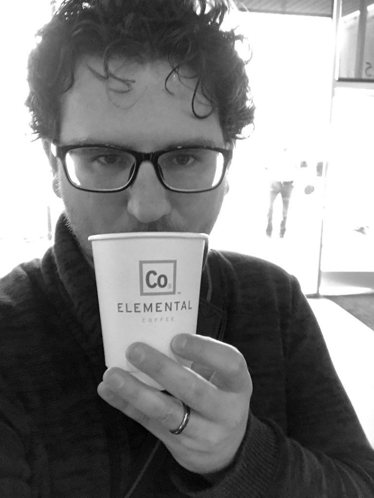 Selfie at Elemental Coffee
