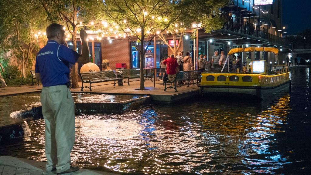 Bricktown Water Taxi - photo by Dennis Spielman