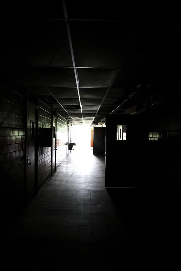 Creepy Hallway behind the Scenes of AXE