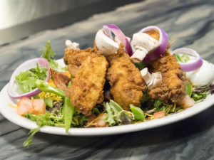 Salad at The Miller Grill - photo by Dennis Spielman