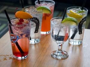 Drinks from W XYZ - photo by Dennis Spielman