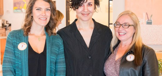 Sarah Day-Short, Alexis Austin, and Debra Ashley at Chromatic Ritual