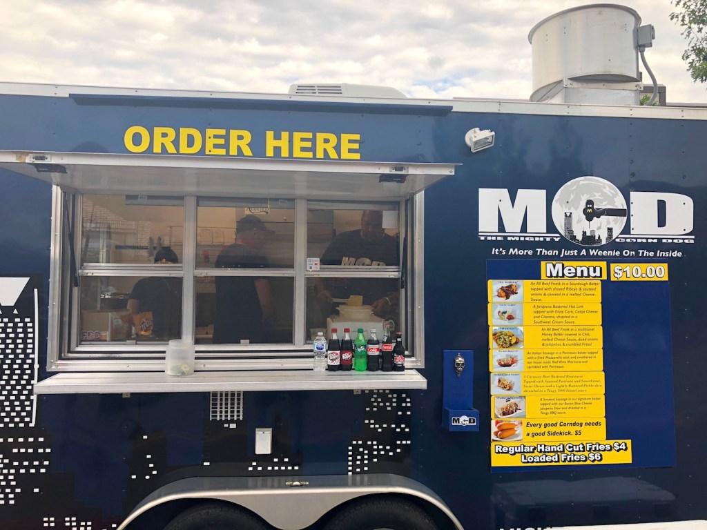 Mighty Corn Dog Food Truck - photo by Dennis Spielman