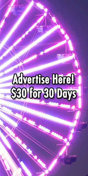 Advertise Here for $30