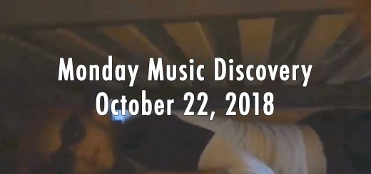 Monday Music Discovery for October 22 2018