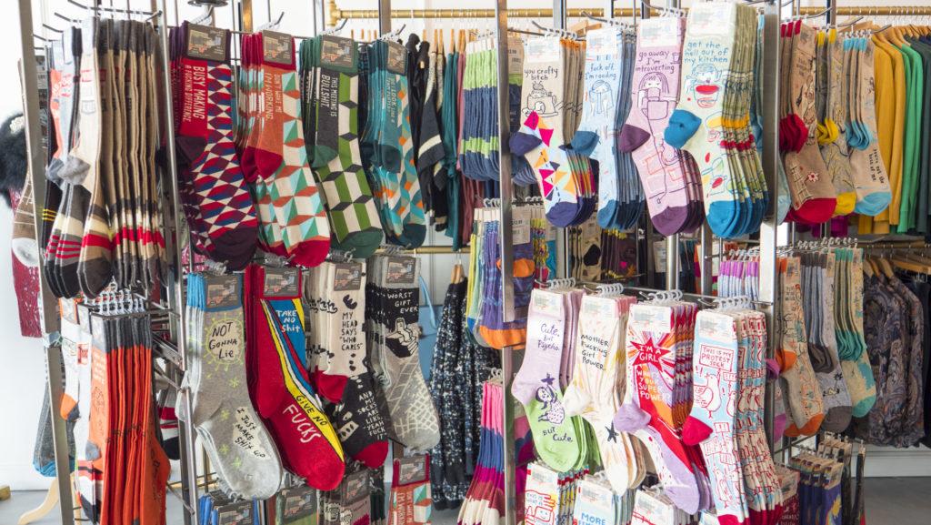 Socks at Black Scintilla - photo by Dennis Spielman