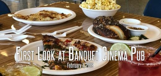 First Look at Banquet Cinema Pub