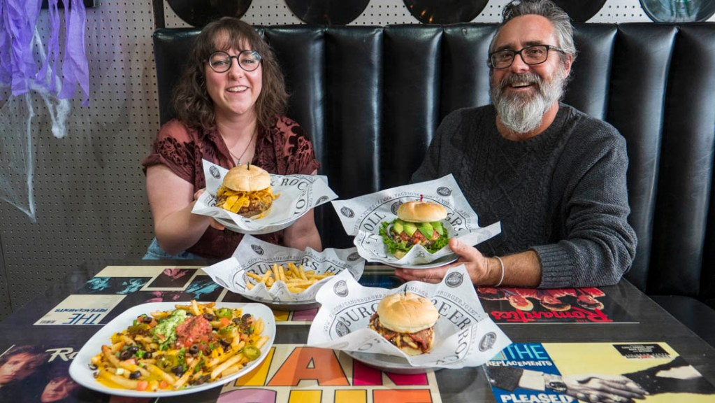 S&B's Burger Joint with Ashley Tennery and Shannon Roper - photo by Dennis Spielman