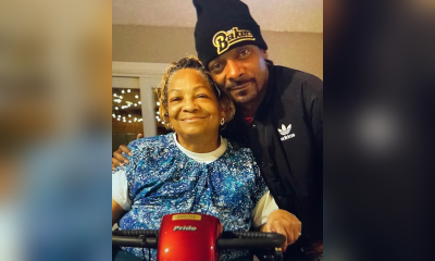 Snoop with mother Beverly Tate
