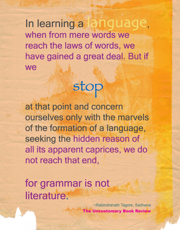 Quotes On Language The Uncustomary Book Review