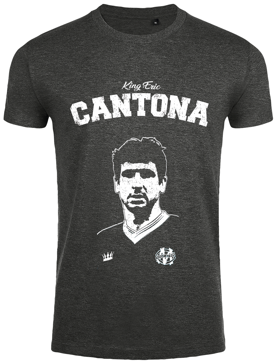 And began in the late sixties in his place of birth, les caillols, in the 12th arrondissement of marseille. T Shirt Cantona