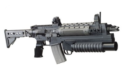 Z M Rifle with Grenade Launcher