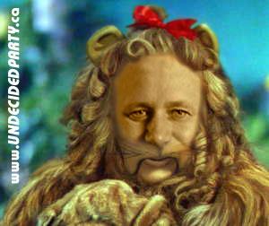 Stephen Harper Cowardly Lion