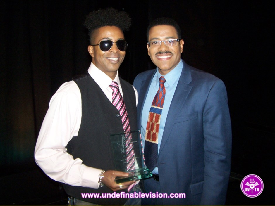 Undefinable Vision Executive Producer & Winner of Best Music Program Tabou TMF aka Undefinable One with Dean Meminger TV News Reporter/Anchor in NYC at NY1 News.